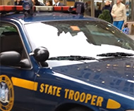New York state trooper ALPR car